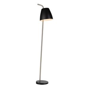 Čierna voľne stojacia lampa Markslöjd Spin Floor Black