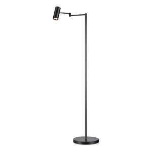 Čierna voľne stojacia lampa Markslöjd Torino Floor Black