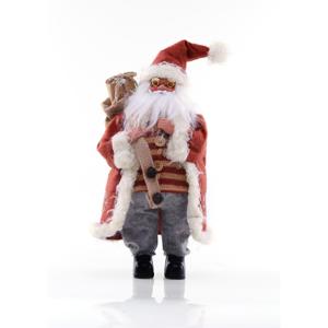 Červená vianočná soška DecoKing Gifter