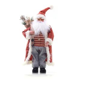 Červená vianočná soška DecoKing Santa