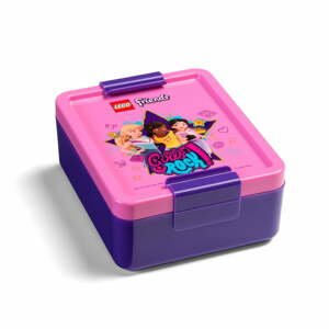 Plastová škatuľka na desiatu LEGO® Friends Girls Rock