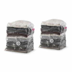 Sada 2 vakuových úložných obalov na oblečenie Compactor Compact Express, 20 x 30 x 50 cm