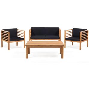 Set záhradného nábytku z akáciového dreva Monobeli Sumatra