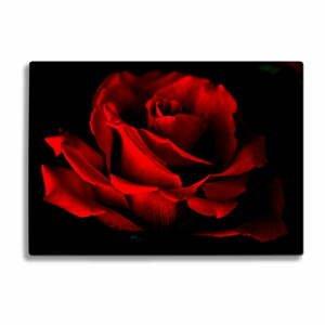 Sklenená doska na krájanie Insigne Red Rose