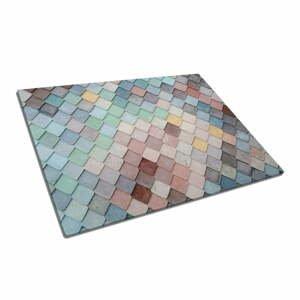 Sklenená doska na krájanie Insigne Mosaic