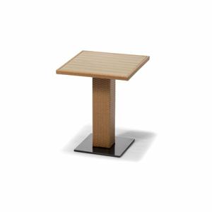 Hnedý záhradný jedálenský stôl Timpana Ciara Cappuccino