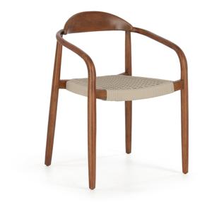 Stolička z eukalyptového dreva La Forma Glynis