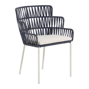 Modrá stolička La Forma Robyn