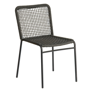 Sivá stolička La Forma Mandyra