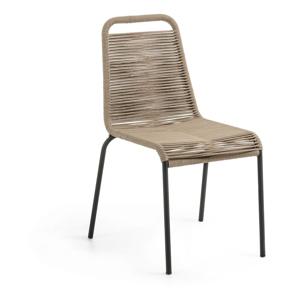Hnedá stolička La Forma Glenville