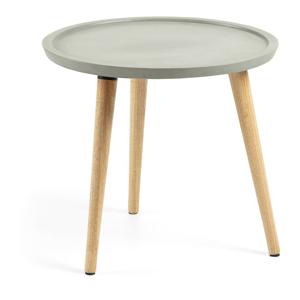 Príručný stolík s cementovou doskou La Forma Livy