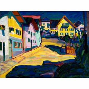 Reprodukcia obrazu Vasilij Kandinskij - Castle Grave Street, 80×60 cm