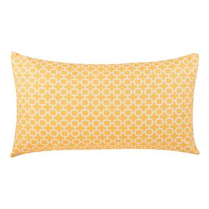 Žltý vonkajší vankúš Monobeli Lizatto Yellow, 40 x 70 cm