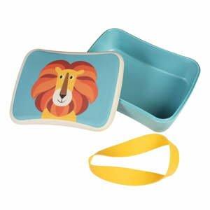 Desiatový box z bambusu Rex London Charlie the Lion