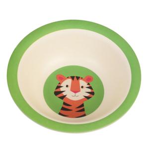 Detská miska z bambusu Rex London Teddy the Tiger