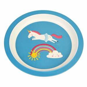 Detský tanier z bambusu Rex London Magical Unicorn