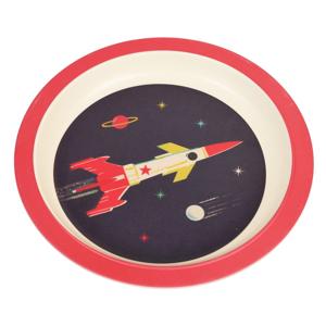 Detský tanier z bambusu Rex London Space Age