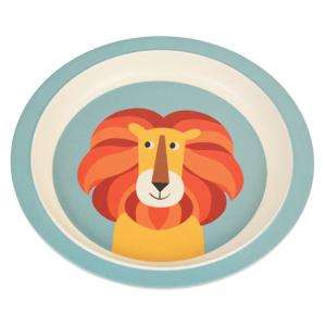Detský tanier z bambusu Rex London Charlie the Lion