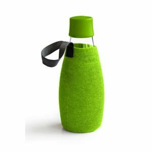 Zelený obal na sklenenú fľašu ReTap s doživotnou zárukou, 300 ml