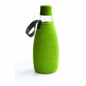 Zelený obal na sklenenú fľašu ReTap s doživotnou zárukou, 800 ml