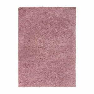 Tmavoružový koberec Flair Rugs Sparks, 60 x 110 cm