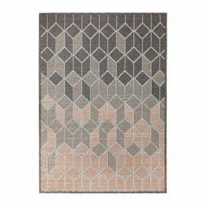 Sivo-ružový koberec Flair Rugs Dartmouth, 120 x 170 cm