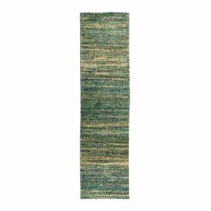 Zelený koberec Flair Rugs Enola, 60 x 230 cm