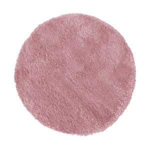 Tmavoružový koberec Flair Rugs Sparks, ⌀ 133 cm