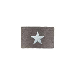 Rohožka z prírodného kokosového vlákna Artsy Doormats Glitter Star, 40 x 60 cm