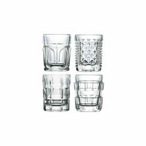 Súprava 4 sklenených pohárikov La Rochère Assortis, 60 ml
