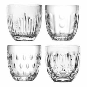Sada 4 sklenených pohárov La Rocher Gobelet, 230 ml