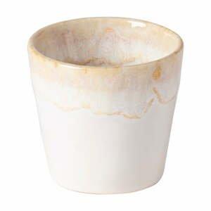 Biela kameninová šálka na espresso Costa Nova Grespresso