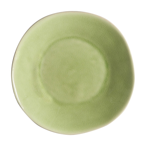 Svetlozelený kameninový polievkový tanier Costa Nova Riviera, ⌀ 25 cm