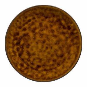 Hnedý kameninový podnos Costa Nova Roda, ⌀ 28 cm