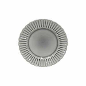 Sivý kameninový tanier Costa Nova Cristal, ⌀ 28 cm