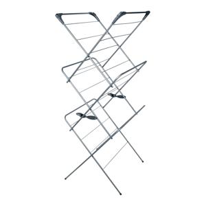 Trojposchodový sušiak na bielizeň Addis 2 Tier Concertina Graphite Metallic