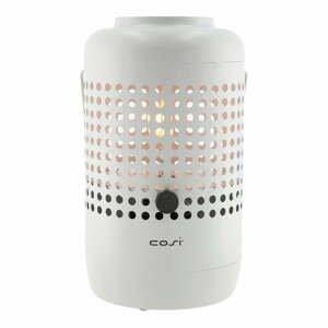Svetlosivá plynová lampa Cosi Drop, výška 37 cm