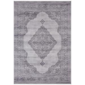 Svetlosivý koberec Nouristan Carme, 200 x 290 cm