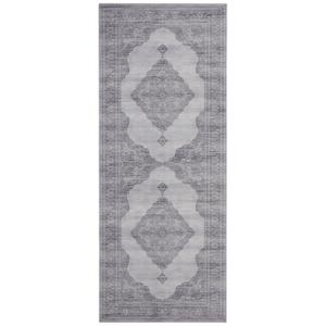 Svetlosivý koberec Nouristan Carme, 80 x 200 cm