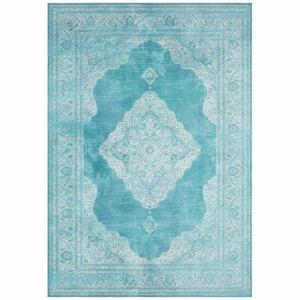 Tyrkysový koberec Nouristan Carme, 80 x 150 cm