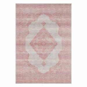 Svetločervený koberec Nouristan Carme, 80 x 150 cm
