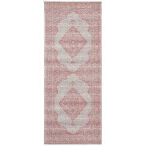 Svetločervený koberec Nouristan Carme, 80 x 200 cm