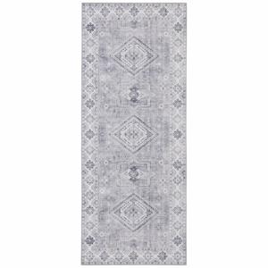 Svetlosivý koberec Nouristan Gratia, 80 x 200 cm