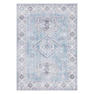 Svetlomodrý koberec Nouristan Gratia, 160 x 230 cm