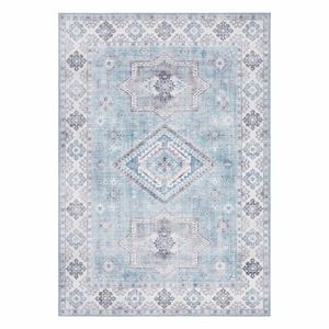 Svetlomodrý koberec Nouristan Gratia, 200 x 290 cm