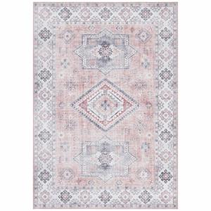 Svetloružový koberec Nouristan Gratia, 200 x 290 cm