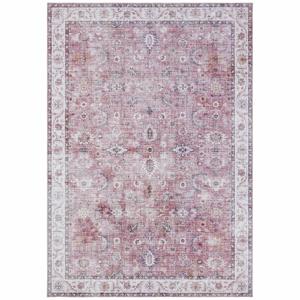 Svetločervený koberec Nouristan Vivana, 200 x 290 cm