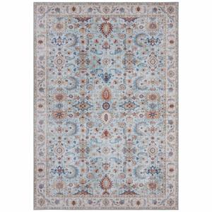 Modro-béžový koberec Nouristan Vivana, 80 x 150 cm