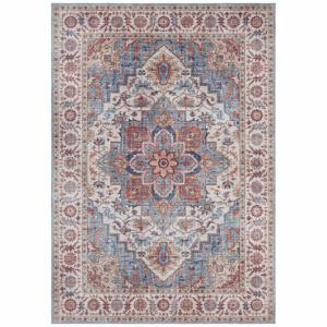 Červeno-modrý koberec Nouristan Anthea, 80 x 150 cm