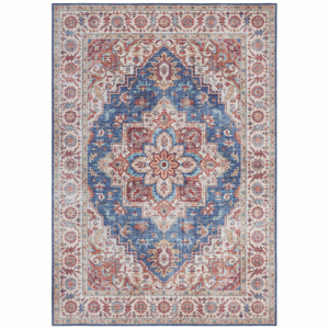 Modro-červený koberec Nouristan Anthea, 80 x 150 cm